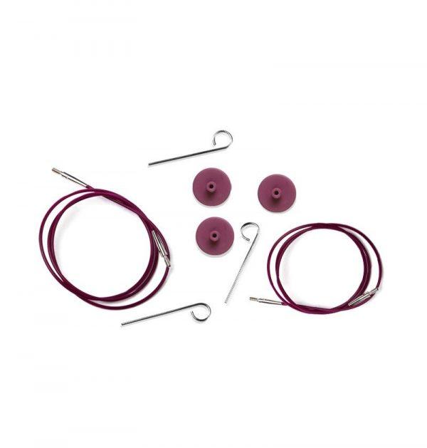 knitpro valas prisukamiems virbalams purpurinis kaina