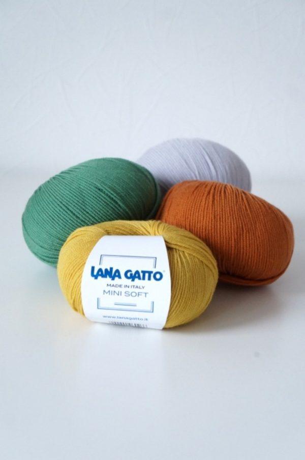Lana Gatto Mini Soft siulai merino vilnos siulai