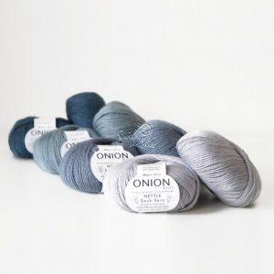 onion nettle sock yarn mezgimo siulai kojinems internetu