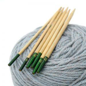 lykke grove mezgimo virbalai prisukami virbalai bambukiniai mezgimo priemones