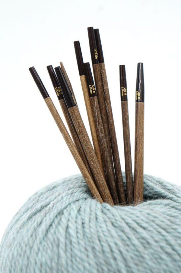 lykke umber mezgimo virbalai prisukami virbalai mediniai virbalai priemones mezgimui